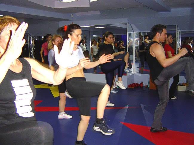 saria star club tae bo step aerobic cardio pilates fitness florin mihaela gerda