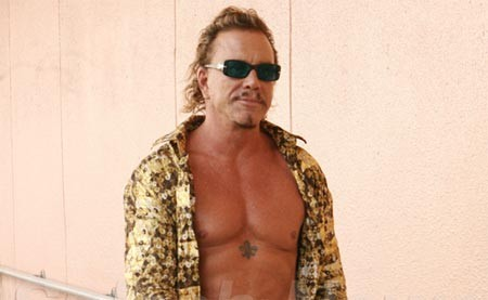 the wrestler mickey rourke oscar 2009 nominalizari