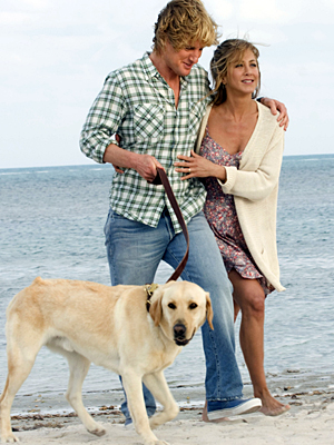 marley and me jennifer aniston owen wilson 2008 film
