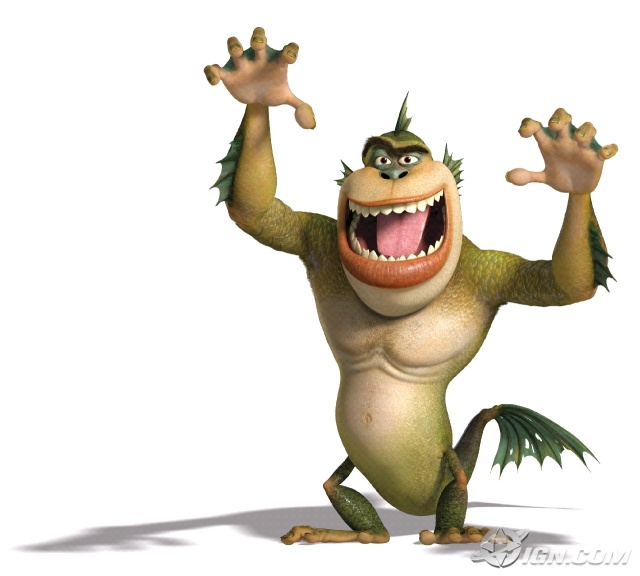 monsters vs aliens dream works desene animate reese witherspoon hugh laurie paul rudd renee zellweger 2009
