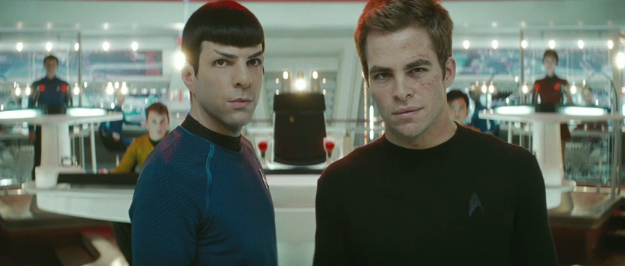 star trek enterprise spock j.j. abrams eric bana chris pine zachary quinto film 2009 SF