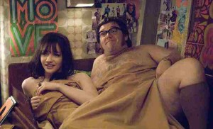 Talulah Riley and Nick Frost