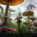 Alice in Wonderland, Tim Burton in Disneyland