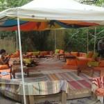 Ceainaria Cinci – terasa ROGVAIV si un ceai baut in gradina