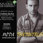 Ovidiu Buta despre universul modei la Palatul Universul