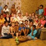 Portret de familie in alb-negru la One World Romania