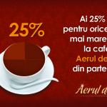 KoolHunt.ro te trimite sa iti bei cafeaua cu 25% discount la Aerul de Altadata