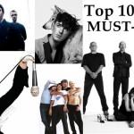 10 piese musai de auzit live in vara lui 2012