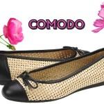 Comodo in martie: cadouri comode pentru tine, o lume de pantofi la picioarele partenerei tale