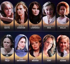oscar 2013 - nominated ladies