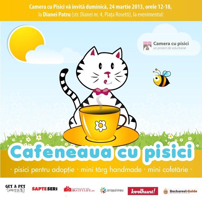 Cafeneaua cu Pisici-24 martie