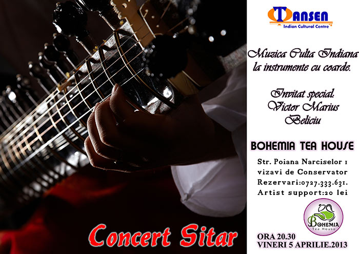 Concert-sitar---Victor-Beliciu---Bohemia---5-aprilie