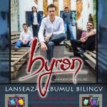 Un nou album, o exploziva lansare – byron canta bilingv pe 30 Seconds of Fame