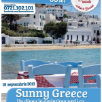 Remember the summer – Sunny Greece, a 27-a editie a Bucate Unicate la Cafepedia Romana