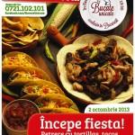 Cafepedia Romana gazduieste Fiesta Mexicana pe 2 octombrie!