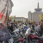 """O coloana de 110 de motociclisti a anuntat lansarea trailerului filmului """"Ultimul Zburator"""""""