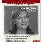 MasterClass Control + N de Productie de Film cu Ada Solomon