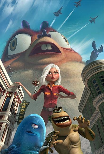 Monsters vs. Aliens – un Shrek feminin in varianta 3D salveaza Pamantul
