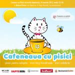 Intampina primavara cu o fapta buna, la Cafeneaua cu Pisici, pe 24 martie!