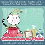 Mos Craciun te indeamna la fapte bune pisicesti… la Cafeneaua cu Pisici de pe 15 decembrie!