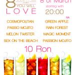 8 cocktail-uri pe care le vei adora de 8 martie la Nargila Grill & Bar